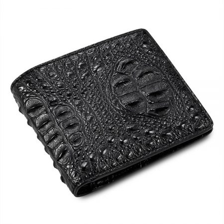 Fashion Bifold Genuine Crocodile Wallet