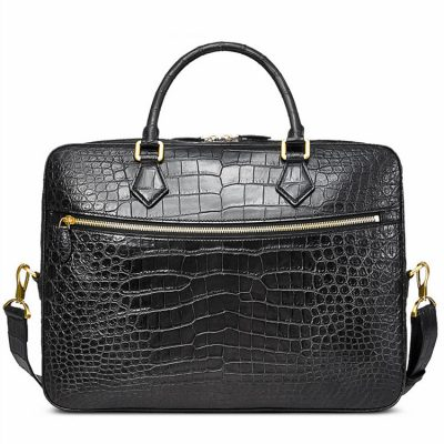 Fashion Crocodile Bag, Luxury Crocodile Briefcase for Men