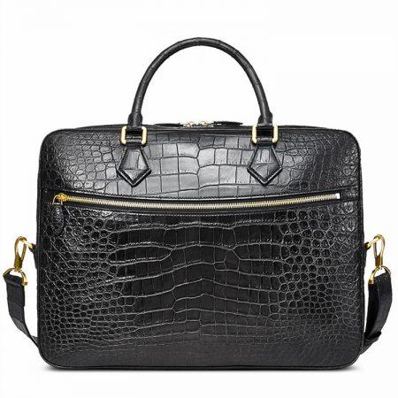 Fashion Crocodile Bag, Luxury Crocodile Briefcase for Men