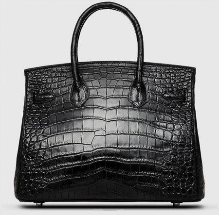 Genuine Crocodile Handbag-Back
