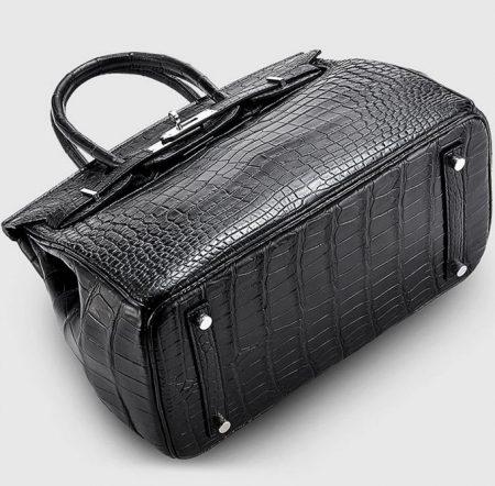 Genuine Crocodile Handbag-Bottom