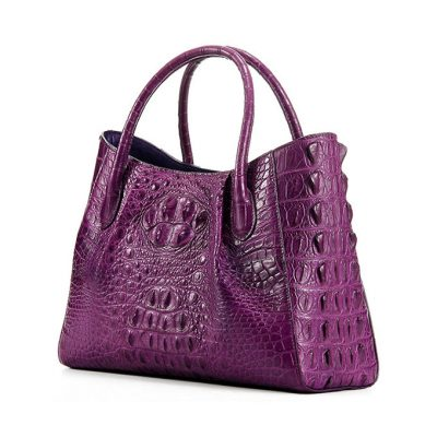 Genuine Crocodile Handbag, Crocodile City Bag-1