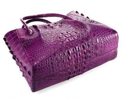 Genuine Crocodile Handbag, Crocodile City Bag-Bottom