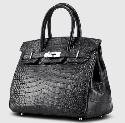 Genuine Crocodile Handbag-Left