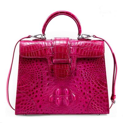 Genuine Crocodile Handbag, Shoulder Bag