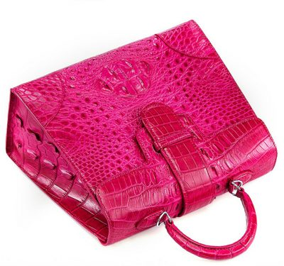 Genuine Crocodile Handbag, Shoulder Bag-Top