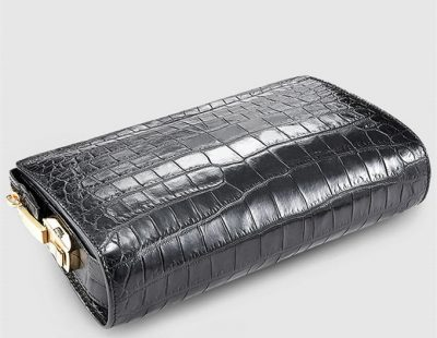 Large Genuine Crocodile Wallet-Details