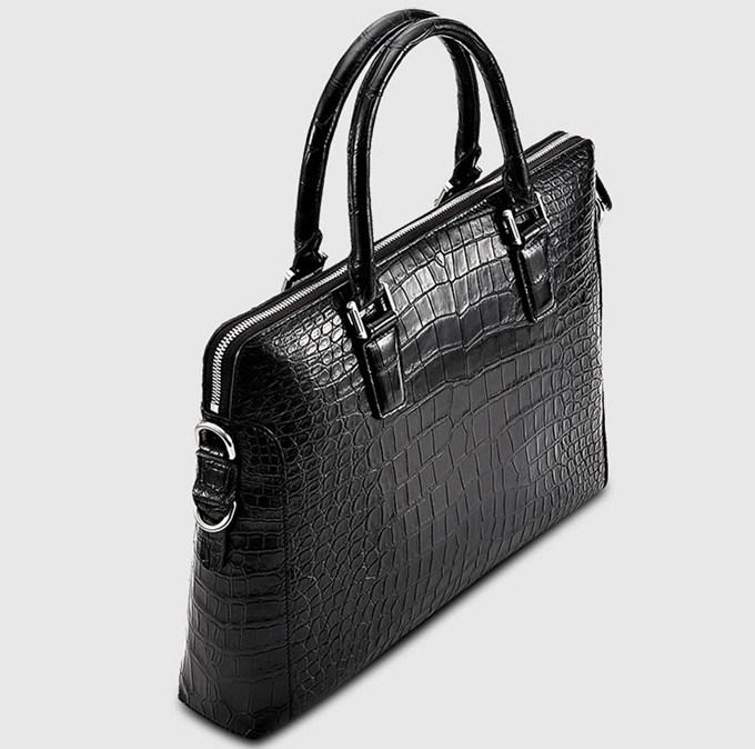 Luxury Crocodile Briefcase Luxury Crocodile Laptop Bag