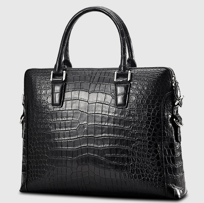 Luxury Crocodile Briefcase Luxury Crocodile Laptop Bag