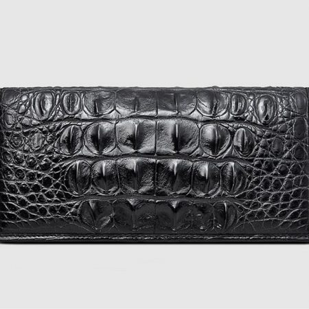 Mens Genuine Crocodile Wallet-Front