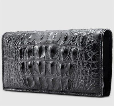 Mens Genuine Crocodile Wallet-Right