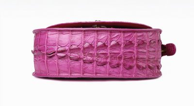 Stylish Crocodile Evening Handbag-Bottom