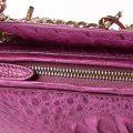 Stylish Crocodile Evening Handbag-Zipper