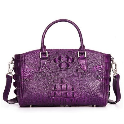 Stylish Crocodile Shoulder Bag, Crocodile Purse Handbag