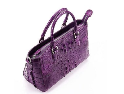 Stylish Crocodile Shoulder Bag, Crocodile Purse Handbag-Top