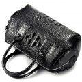 Stylish Crocodile Skin Barrel Bag-1
