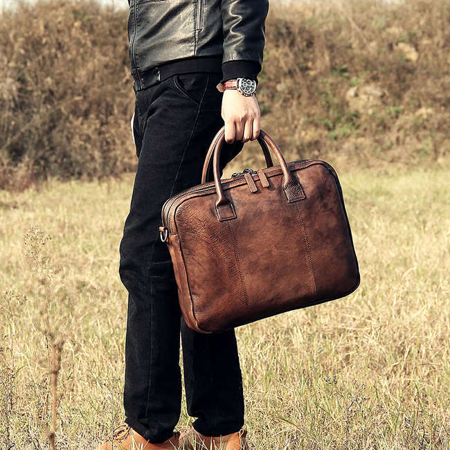 Types Of Men S Leather Briefcases