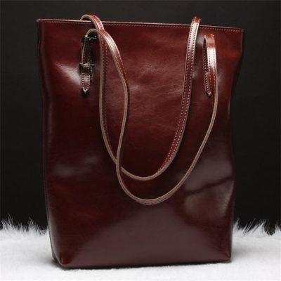 Vintage Series Leather Tote