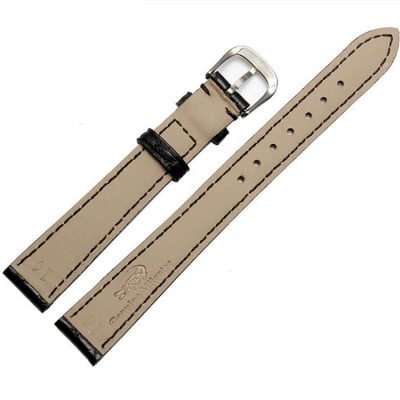 Womens Genuine Alligator Leather Watch Band-Back