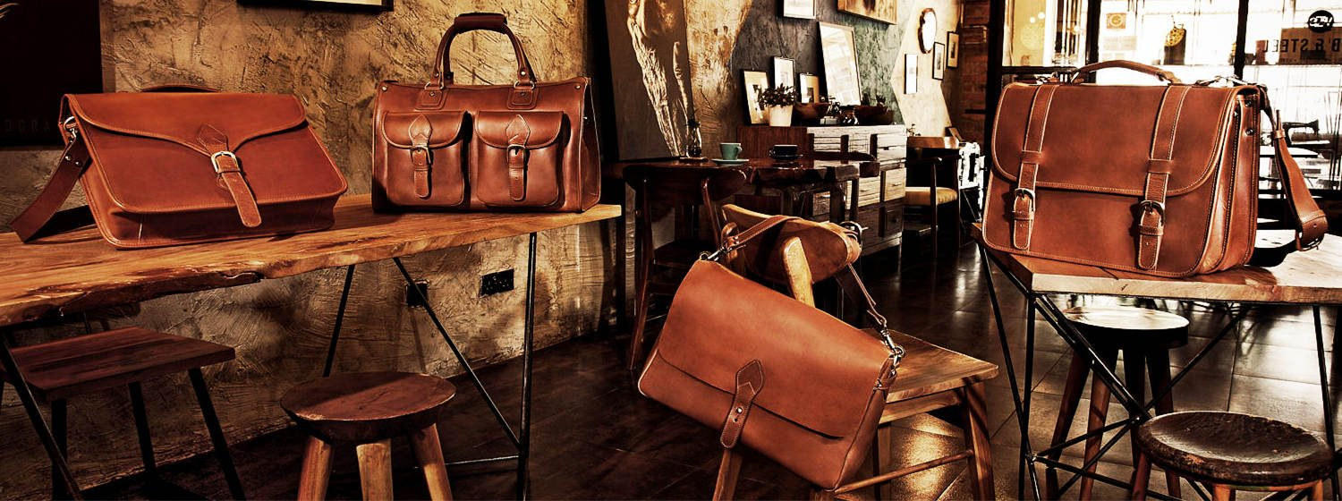 leather bags and handmade leather bags