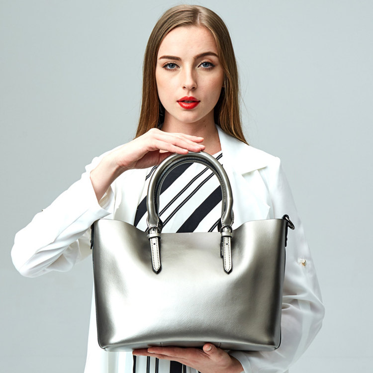 portable handbags,full gray,pristine green and clean bright ivory