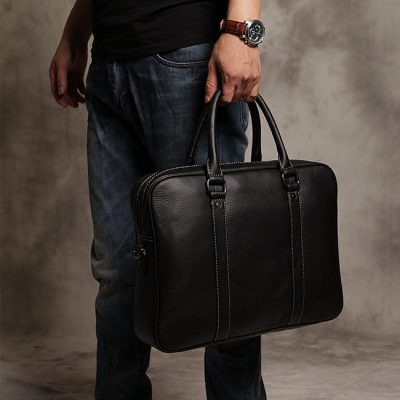 right leather briefcase at the right price