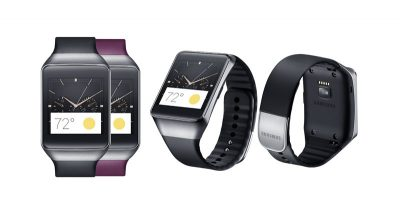 Android Wear-Samsung Gear Live