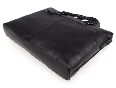 Casual Leather Briefcase, Leather Business Bag-Bottom