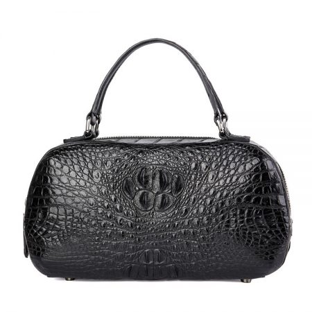 Classic Crocodile Top-Handle Handbag