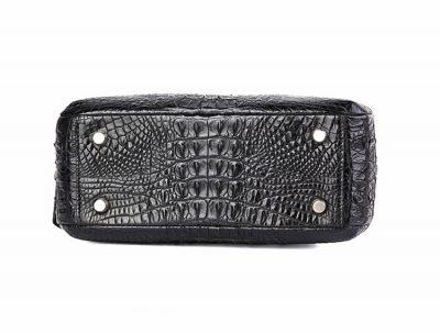 Classic Crocodile Top-Handle Handbag-Bottom