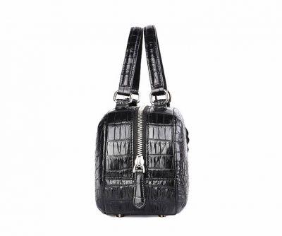 Classic Crocodile Top-Handle Handbag-Side