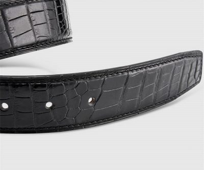 Classic & Fashion Genuine Crocodile Belt-2