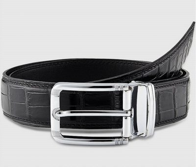 Classic & Fashion Genuine Crocodile Belt - Buckle