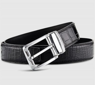 Classic & Fashion Genuine Crocodile Belt - Lay
