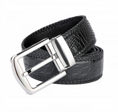 Handmade Genuine Crocodile Belt-Buckle