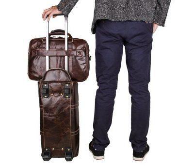 Leather Travel Briefcase-Exhibition-2
