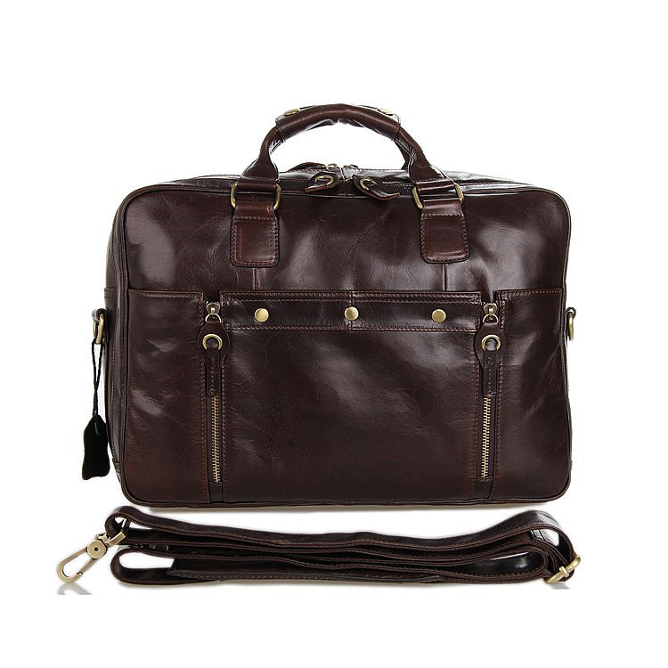 Leather Travel Briefcase, Large Leather Briefcase