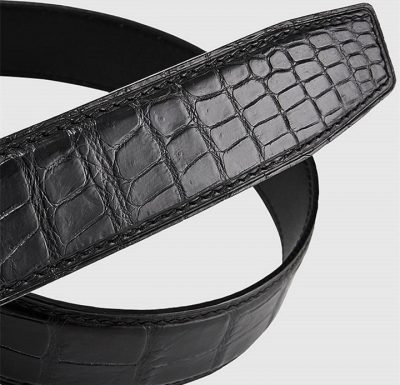 Luxury Automatic Buckle Crocodile Belt-2