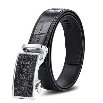 Luxury Automatic Buckle Crocodile Belt