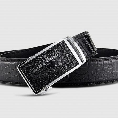 Luxury Automatic Buckle Crocodile Belt-Buckle