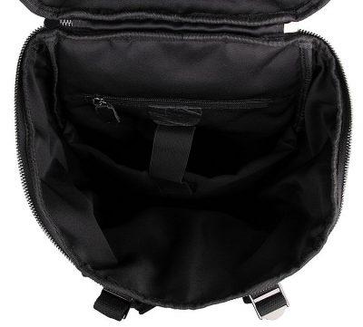 Stylish Urban Leather Backpack-Inside