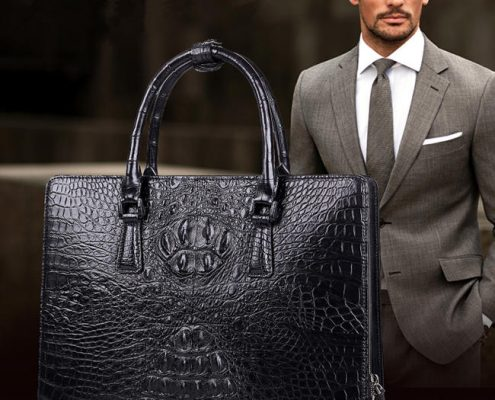 Alligator Bag For Men