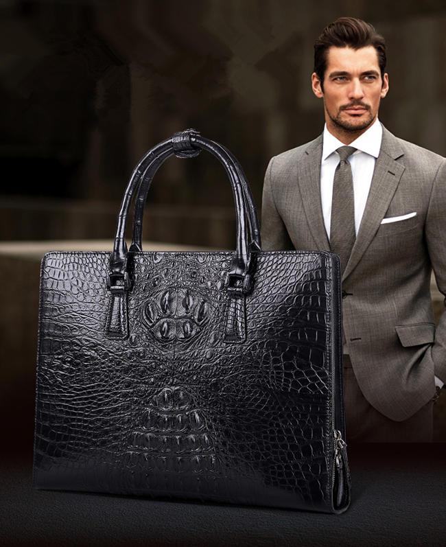 Alligator Bag For Men