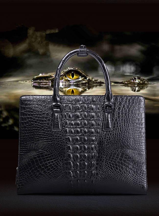 Alligator Bag and Crocodile Bag for Men