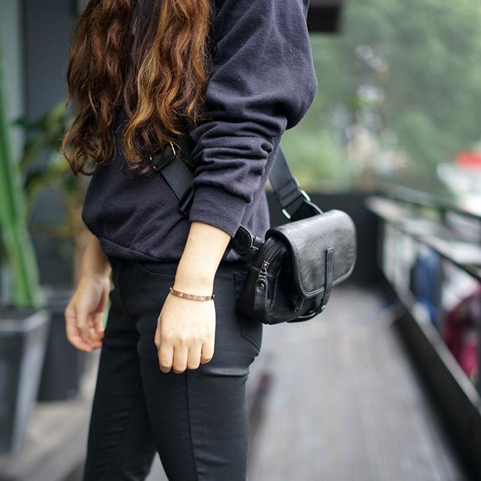 Brucegao waist bags for women