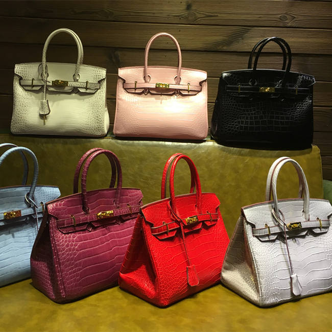 Brucegao's crocodile handbags