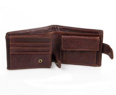 Genuine Leather Wallet Card Holder-Inside