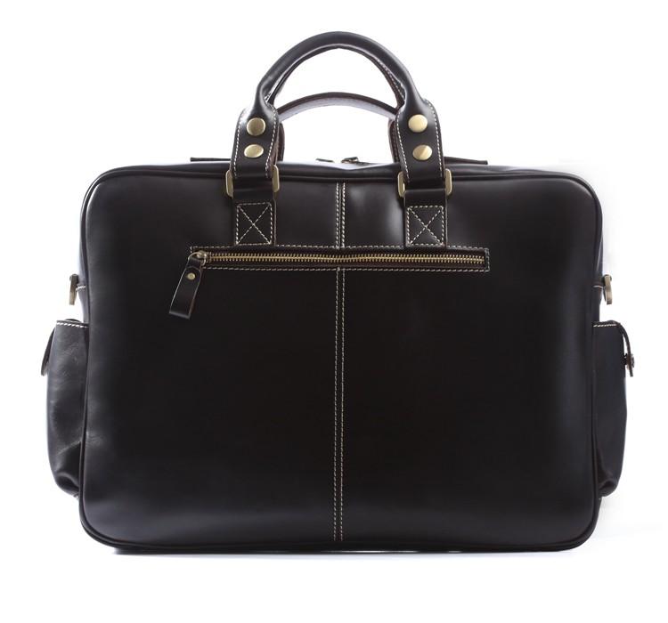 69b065b91379 Handmade Leather Briefcase, Travel Bag, Messenger, Weekend Bag