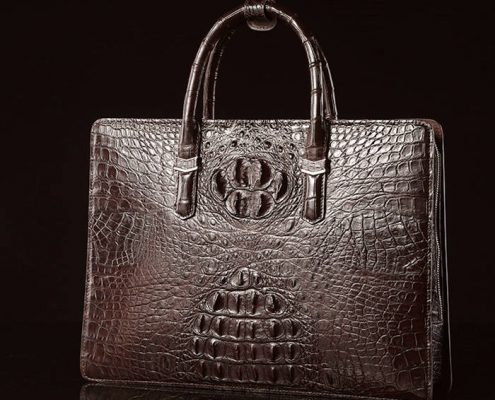 Genuine Alligator Leather Bag for Your Vacation