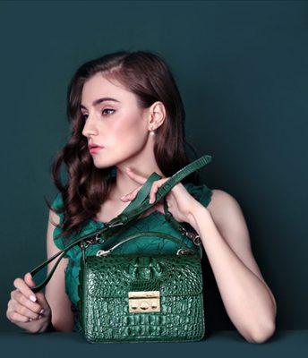 Handmade Crocodile Leather Bags